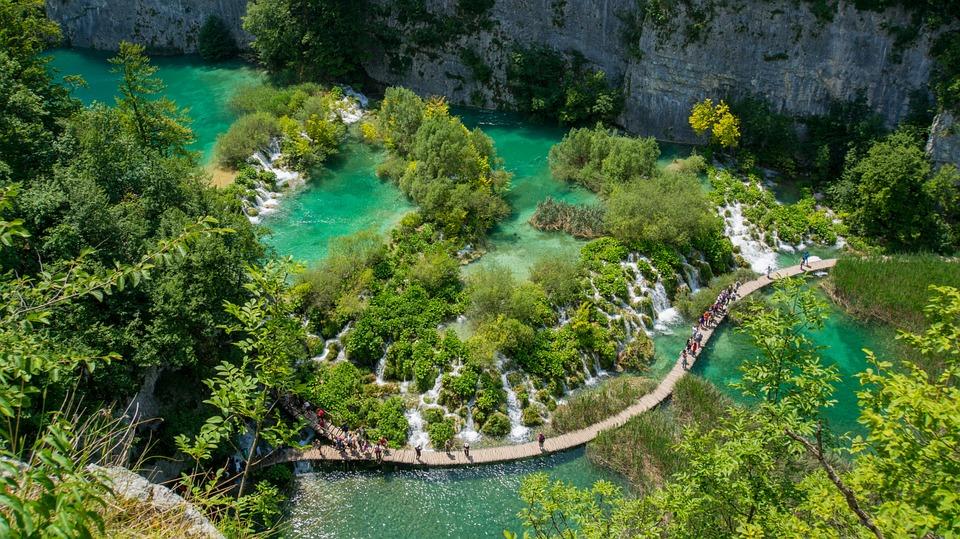 plitvická jezera (chorvatsko)